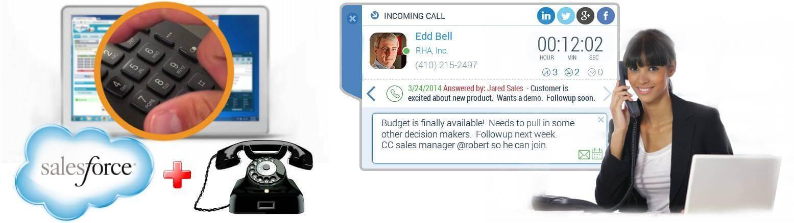 Salesforce Telephone Integration Uae