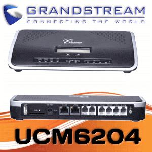 Grandstream Ucm6204 Ip Telephone System