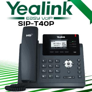 Yealink Sip T40p Voip Phone Uae Dubai
