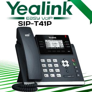 Yealink Sip T41p Voip Phone Dubai Uae