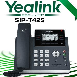 Yealink Sip T42s Voip Phone Uae Dubai