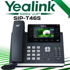 Yealink Sip T46s Voip Phone Uae Dubai