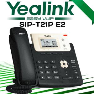 Yealink T21p E2 Voip Phone Dubai Uae