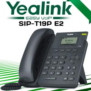 Yealink T19p E2 Voip Phone Dubai Uae