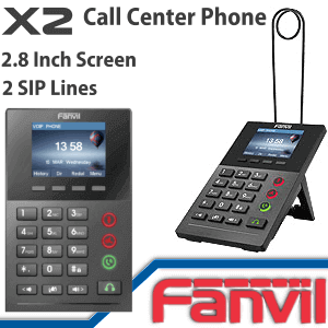 Fanvil X2 Call Center Phone Dubai