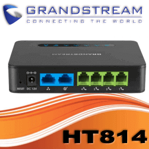 Grandstream Ht814 Ata Dubai Uae