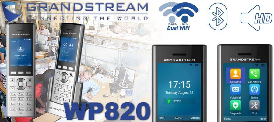 Grandstream Wp820 Wifi Phone