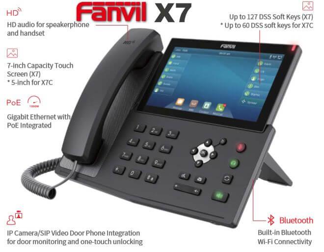 Fanvil X7 Ipphone Dubai