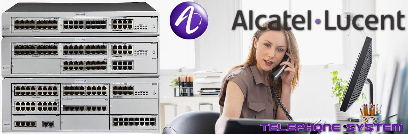 alacatel telephone system dubai
