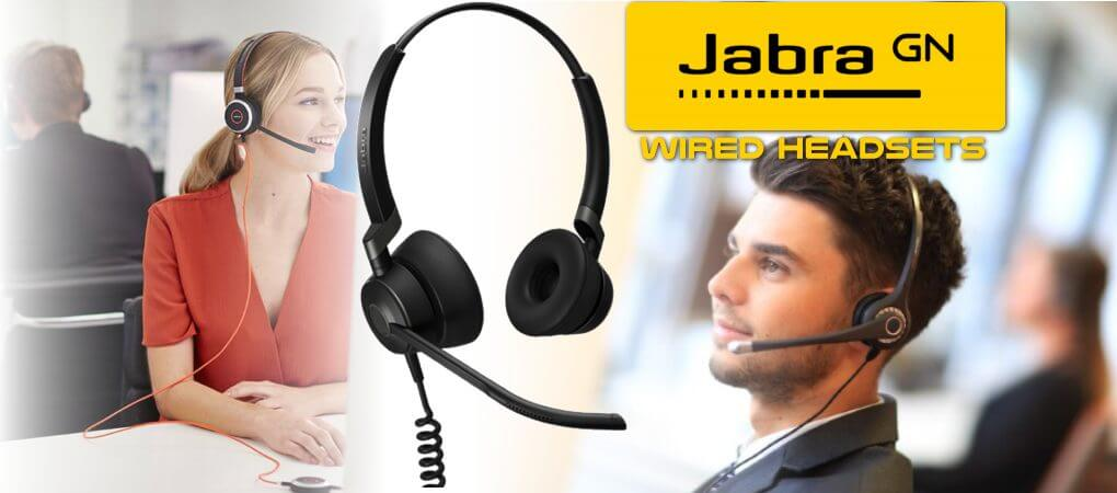 Jabra Wired Hedsets Dubai